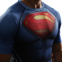 Camiseta Superman Dc Spandex