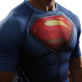 Camiseta Superman Dc Spandex