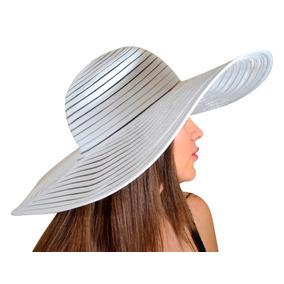 Sombrero De Playa Ala Grande Par Dama