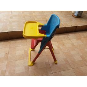 Cadeira Infantil Para Refeição Dobrável Usada