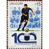 Osl Sello 2712 Mint Uruguay Club Liverpool 100 Años Fútbol