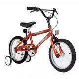 Bicicleta Rodado 16 Bmx Varon Nene/nena Halley 19050/19052