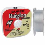 Linha Monofilamento Super Raiglon Tournament 0.470mm 22.36kg