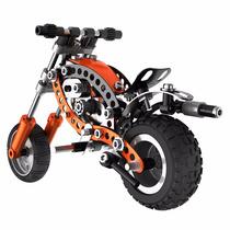 Meccano Evolución Chopper Moto Modelo Clásico Metal