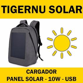 Mochila Notebook Bag Laptop Tigernu Cargador Solar Usb