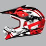 Casco Ls2 Mx433,4 Quake Rojo M Enduro