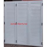 Postigon Puerta Balcon 3 Hojas 1,50 X 2,00 Super Reforzado