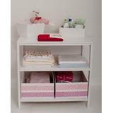 Mueble Cambiador + 2 Cajas Con Guardas Pique A Eleccion
