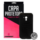 Capinha Protetora Preta Para Samsung Galaxy S3 Mini - Underb