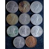 Monedas Antiguas De 20 Centavos Madero México 1974 - 1983