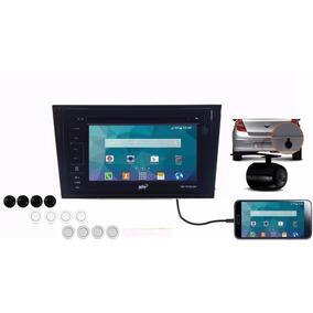 Kit Multimídia Meriva Joy Gps Tv Bluetooth Dvd Cd Camera Usb