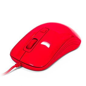 Vorago Mouse Optico Alambrico Usb Ergonomico Mo-102 Rojo
