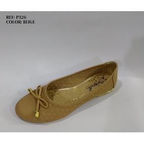 Baleta Plana Elegante De Moda Calzado De Dama Envío Gratis
