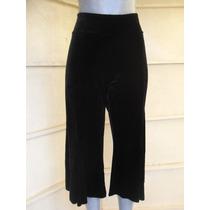 Pantalon Moda Japonesa Talla 36 Color Negro Marca Cache