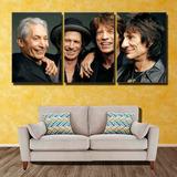 Cuadros Trípticos Musica Bob Marley, Beatles, Rolling Stones