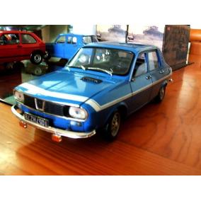 1971 Renault R12 Gordini Blau Escala 1/18 Solido