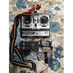 Radio Control Para Avion. Futaba 4 Canales. Fm. Inversor De