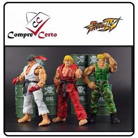 Street Fighter Iv Ryu + Ken + Guiler ( Em 12x Sem Juros...)