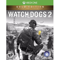 Watch Dogs 2 Dos Xbox One Golden Edition