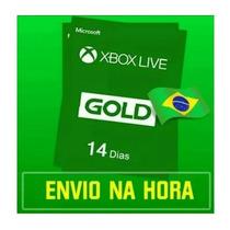 Xbox Live Gold Cartão 14 Dias Envio Na Hora Xbox One/360