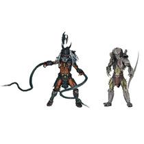 Predador Scarface + Predador Clan Leader - 2 Figuras Neca