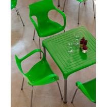 Mesa Plástica Para Restaurantes, Lanchonetes, Residencias