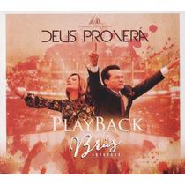 Cd Play- Back Brás Adoração Deus Proverá - Original