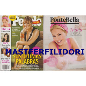 Jenni Rivera Thalia Revista People En Español 2013
