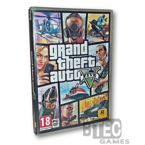 Gta 5 Pc - Grand Theft Auto V (9 Dvd