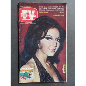 1978 Olga Breeskin Sexy Revista Tele Guia