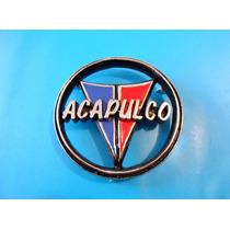 Emblema Valiant Acapulco Plymouth Para Cajuela Clasico