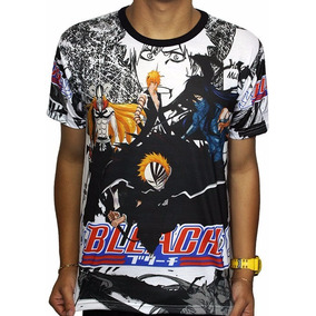 Camisas Camiseta De Animes Hollow Forms Bleach - Full Print