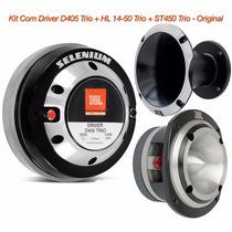 Kit Com Driver D405 Trio + Corneta Hl14-50 Trio + St450 Trio