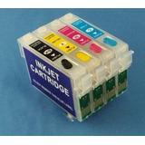 Kit Cartucho Recargable Compatible T0631 C67 C87 Cx3700 Pig