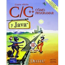 Como Programar En C C++ Y Java - Deitel - 4 + Regalo