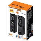 Bocinas Torre Qfx (par) Bluetooth, Usb / Sd, Aux 3.5mm, Rca