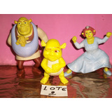 Coleção Mc Donald´s Shrek Fiona Mais O Bebe Bonecos Modelo 2