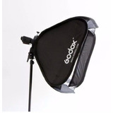 Softbox Godox 80x80 Con Bracket Porta Flash Nuevo Con Tienda