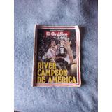 Revista El Grafico River Campeon