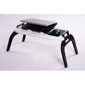 E-table Plus Com Hub Usb Branca Mesa Cooler Para Notebook