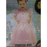Disfraz De Princesa Talla 6/12 Meses