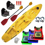 Kayak Rocker Warrior 3 Personas C1 Local C/ Pileta De Prueba