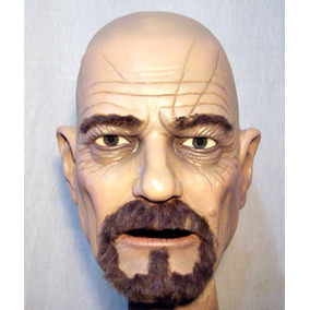Walter White Mascara Latex Halloween Terror Breaking Bad