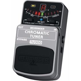 Tu300 Pedal Afinador Chromatic Tuner Behringer Tu 300