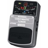 Pedal Afinador Chromatic Tuner Behringer Tu 300 Tu300