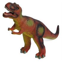 Boneco De Borracha Dinossauro Tiranossauro Rex Grande