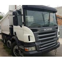 Caminhão Caçamba Scania P-420 B 8x4 Ano: 2010