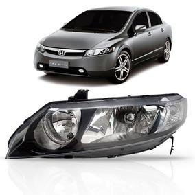 Farol New Civic Honda 2006 2007 2008 2009 2010 2011 Le