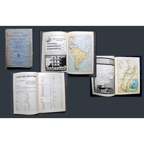 Atlas De Las Comunicaciones Argentina Mapa Ferrocarriles