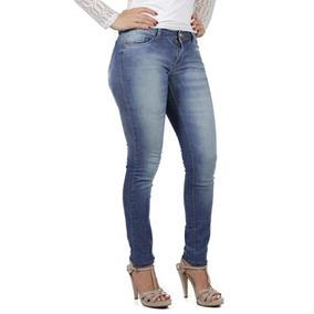 Calça Jeans Escuro Skinny Planet Girls